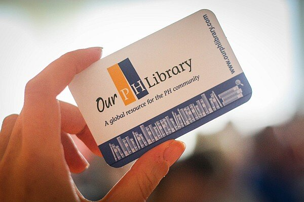 Our PH Library card
